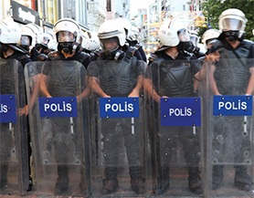 Security: Police Shields