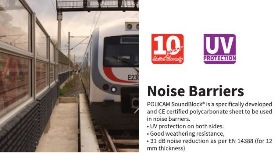 Stop the sound of highways and railways!